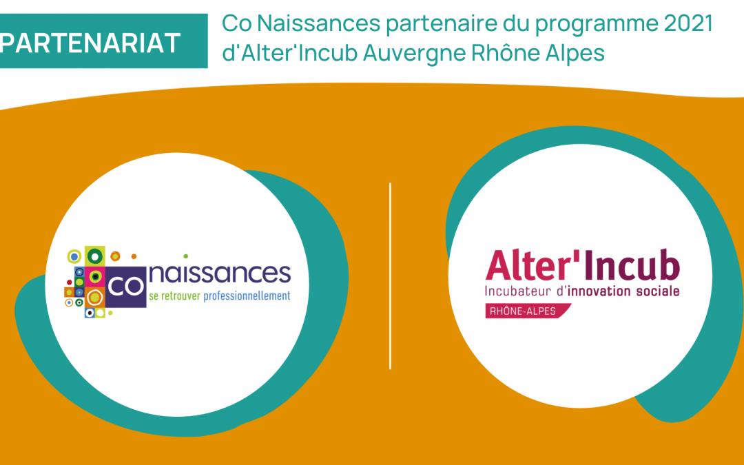 Partenariat avec Alter'Incub Auvergne-Rhône-Alpes
