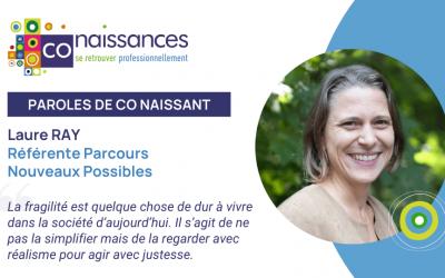 Portrait de Laure RAY - Référente Parcours Nouveaux Possibles